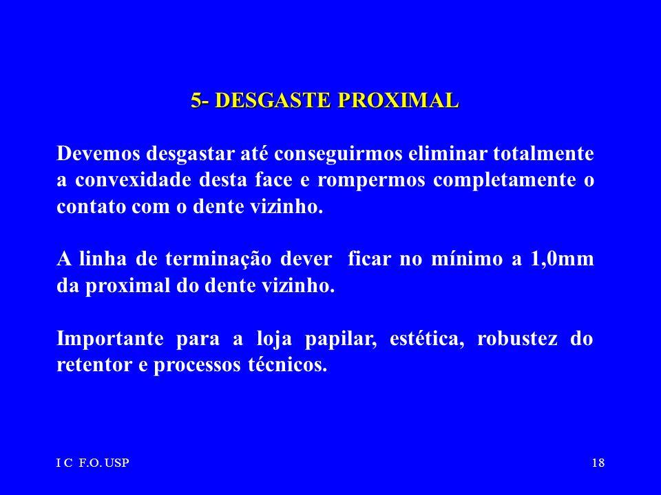 5- DESGASTE PROXIMAL