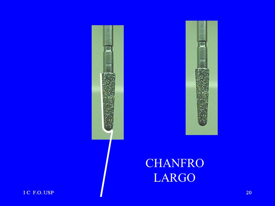 CHANFRO LARGO I C F.O. USP