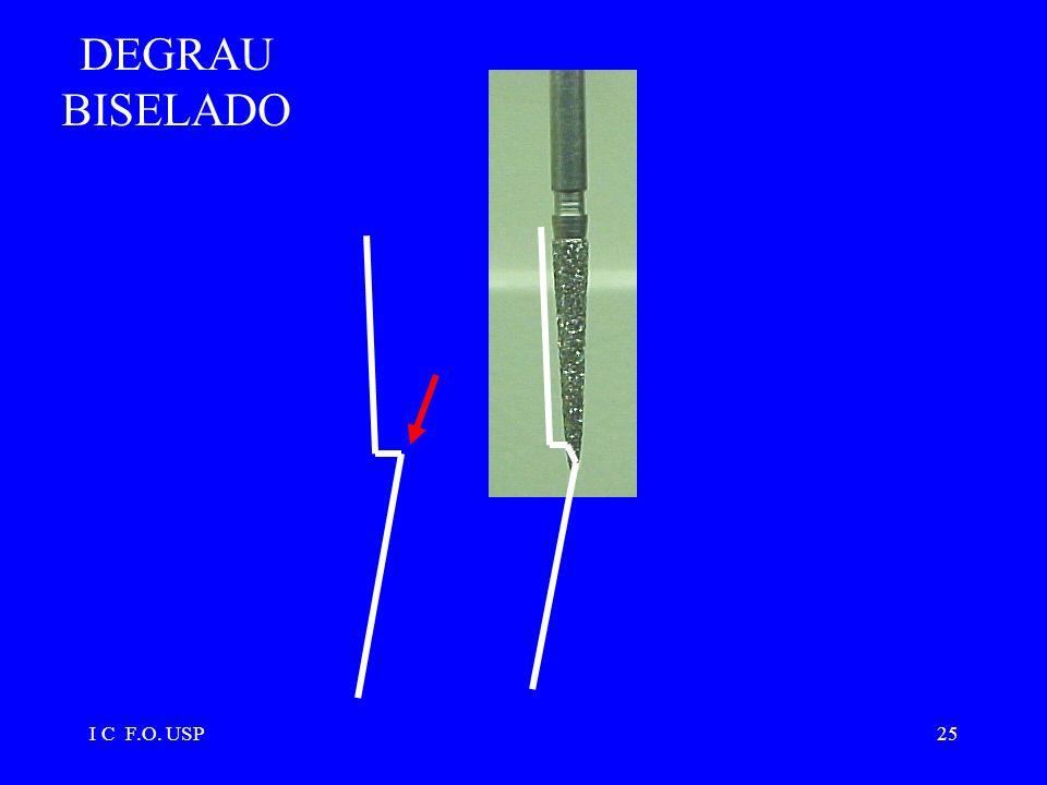 DEGRAU BISELADO I C F.O. USP