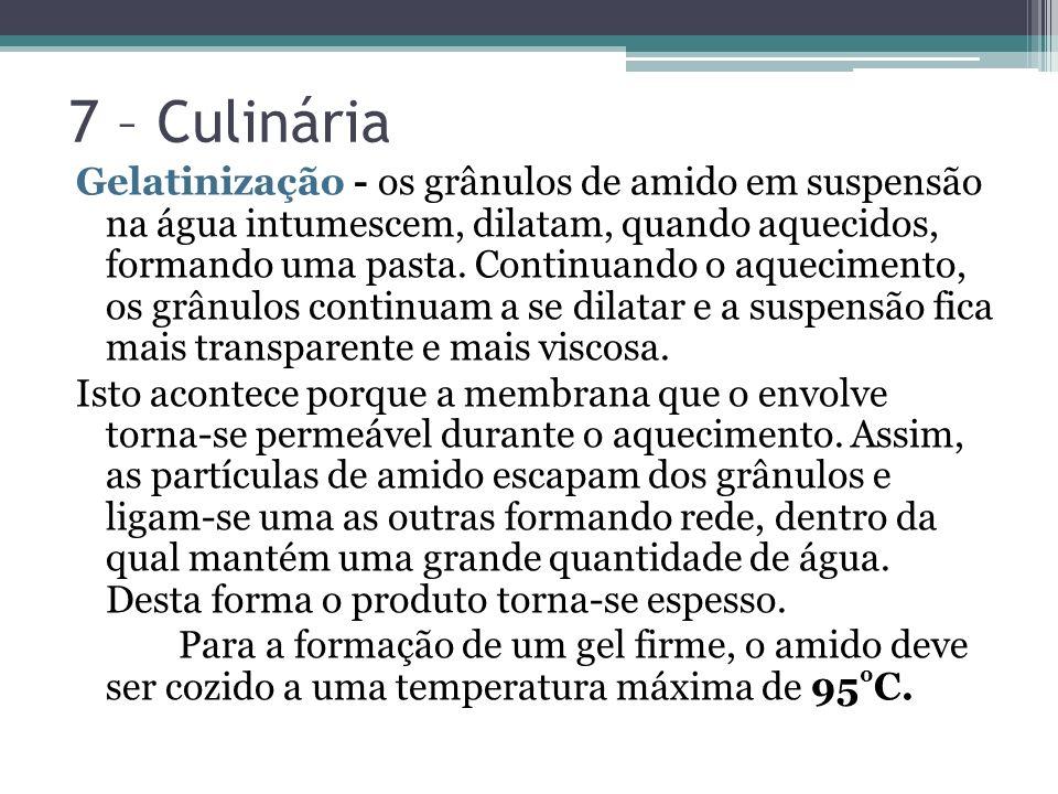 7 – Culinária