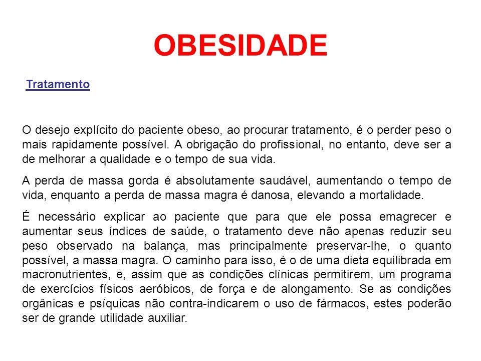 OBESIDADE Tratamento.