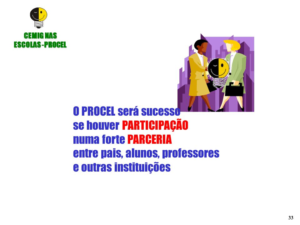 CEMIG NAS ESCOLAS -PROCEL
