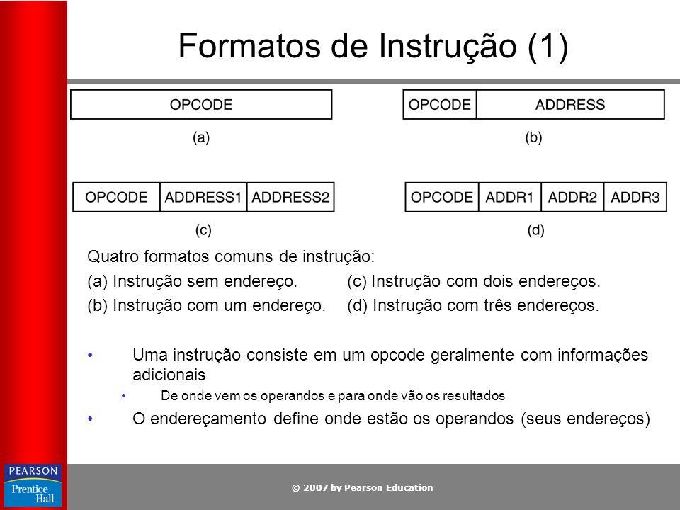 Formatos de Instrução (1)