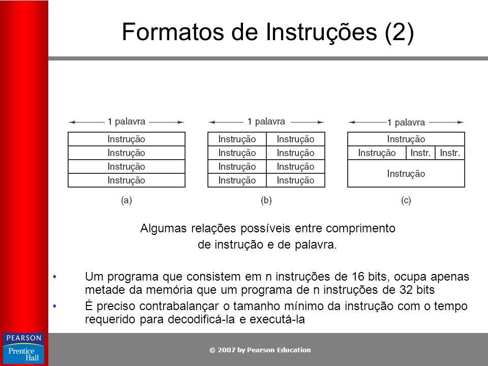 Formatos de Instruções (2)