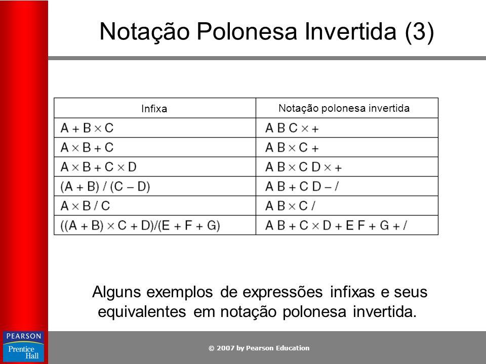 Notação Polonesa Invertida (3)