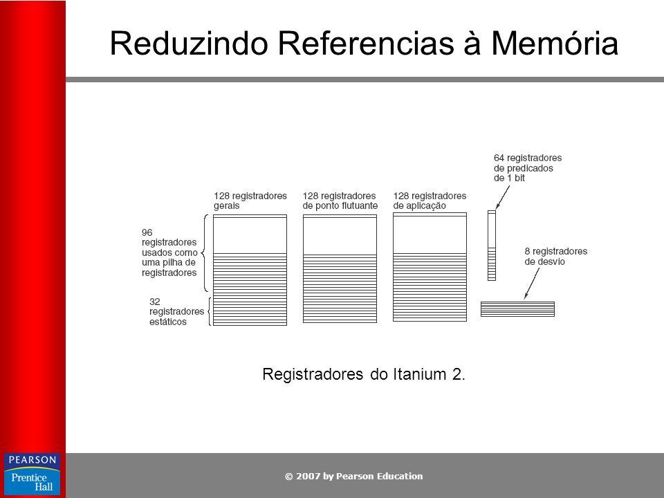Reduzindo Referencias à Memória