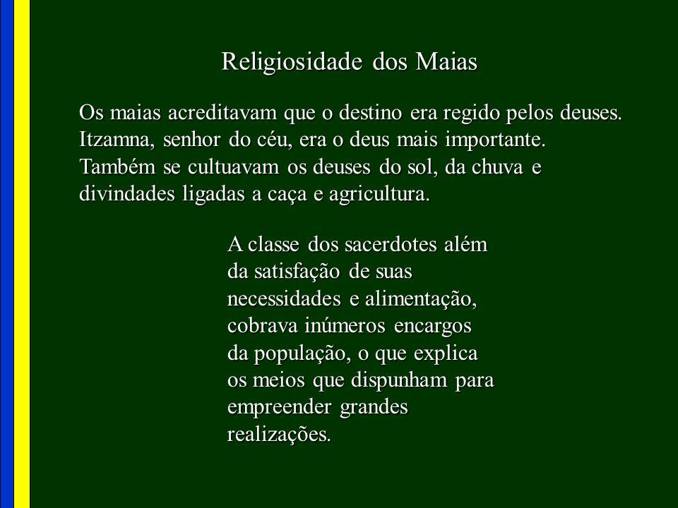 Religiosidade dos Maias