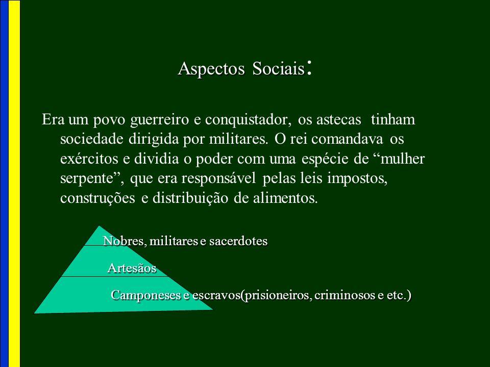 Aspectos Sociais: