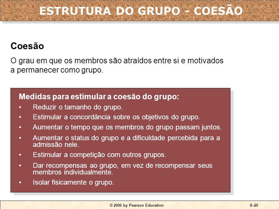 ESTRUTURA DO GRUPO - COESÃO