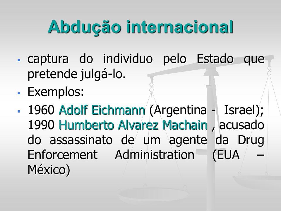 Abdução internacional