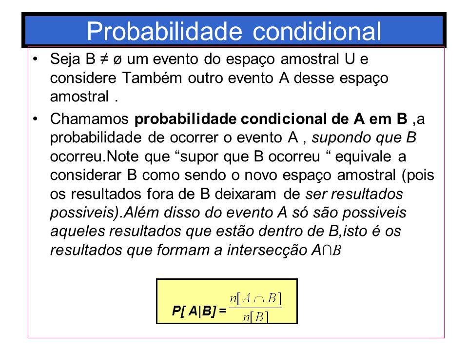 Probabilidade condidional