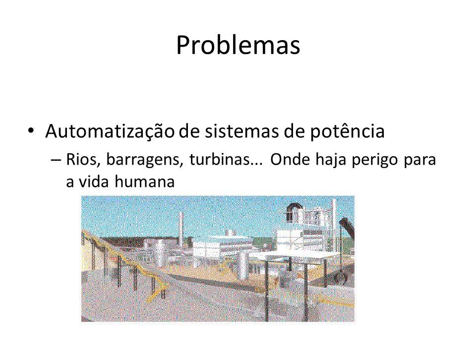 Problemas Automatização de sistemas de potência