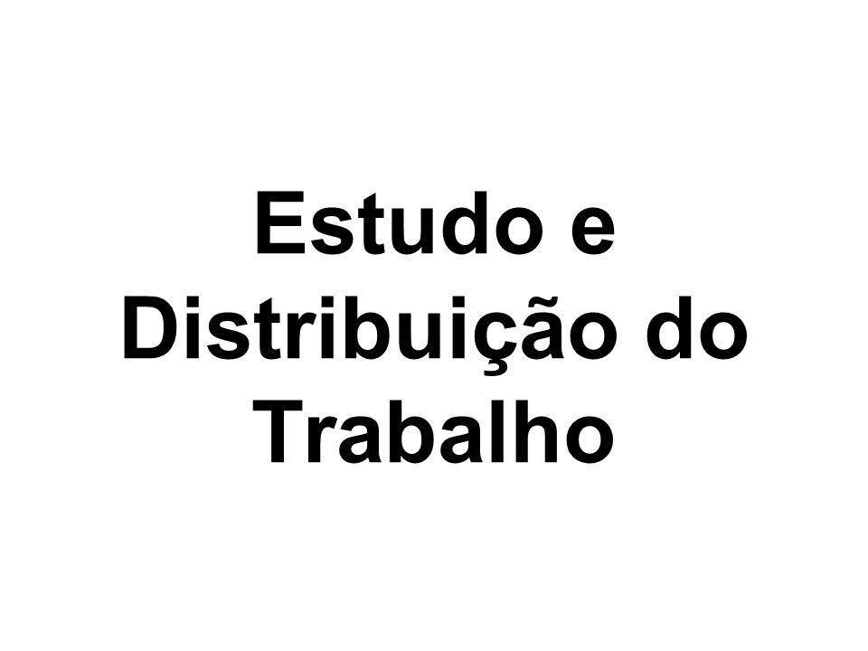 Estudo e Distribuição do Trabalho