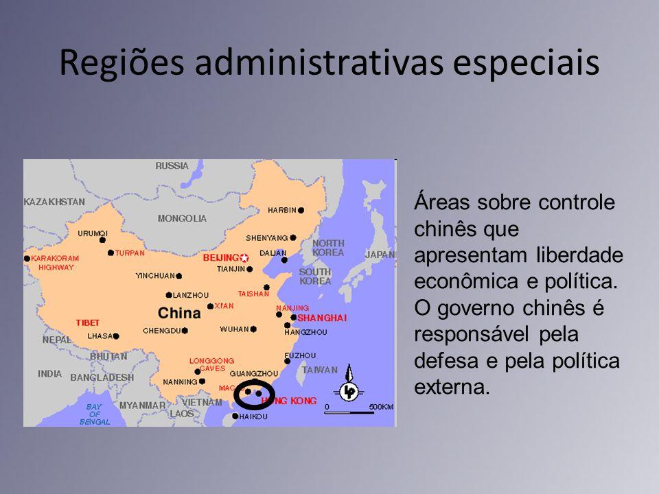 Regiões administrativas especiais