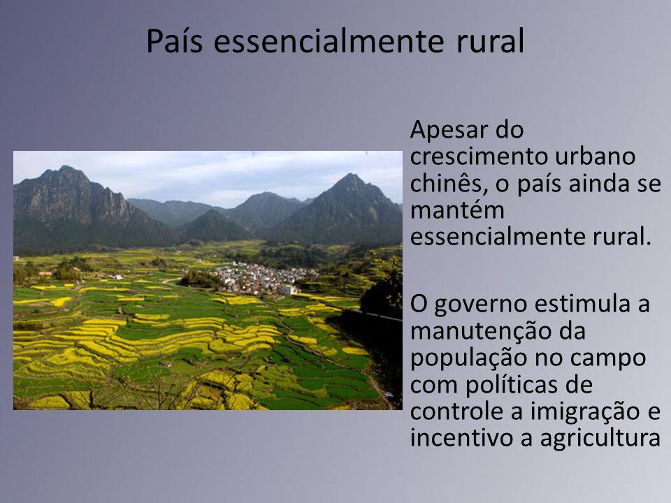 País essencialmente rural