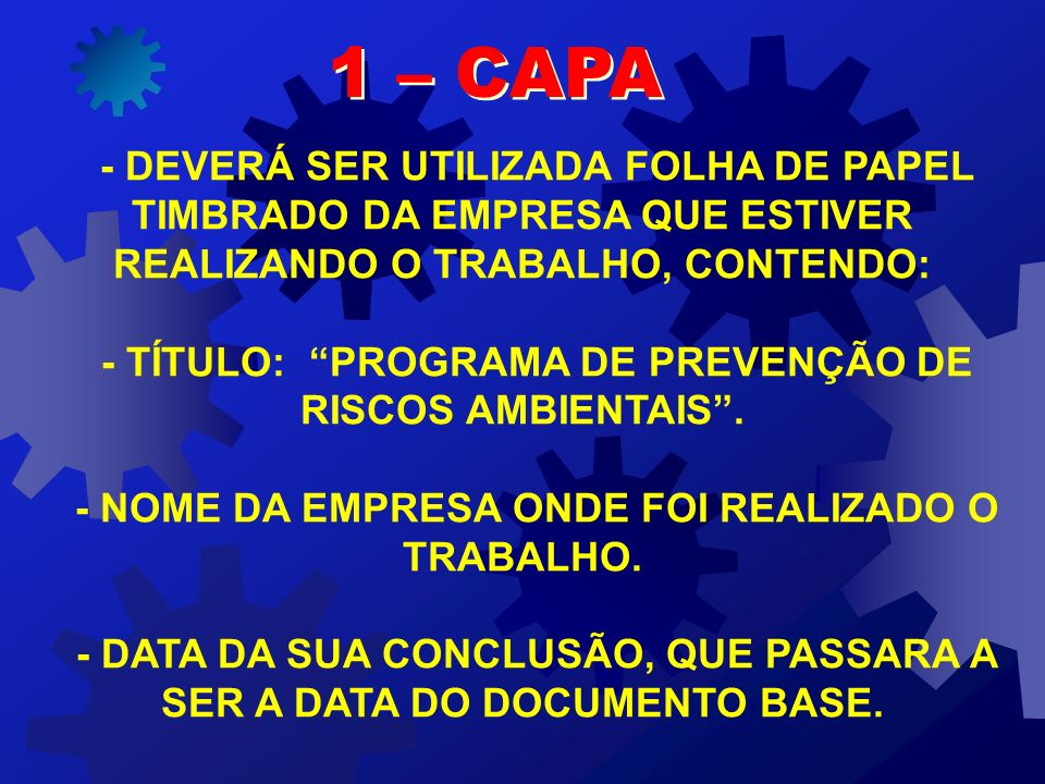 - DATA DA SUA CONCLUSÃO, QUE PASSARA A SER A DATA DO DOCUMENTO BASE.