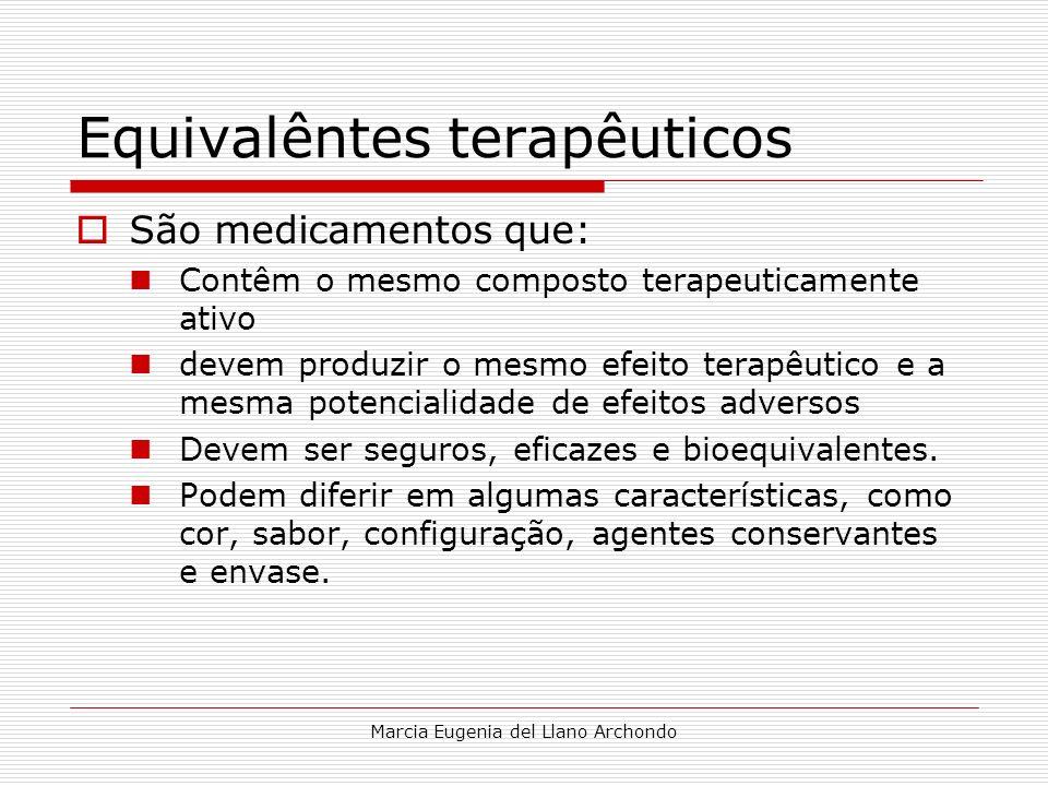 Equivalêntes terapêuticos