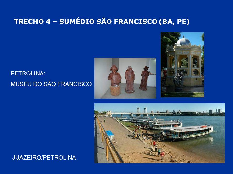 TRECHO 4 – SUMÉDIO SÃO FRANCISCO (BA, PE)