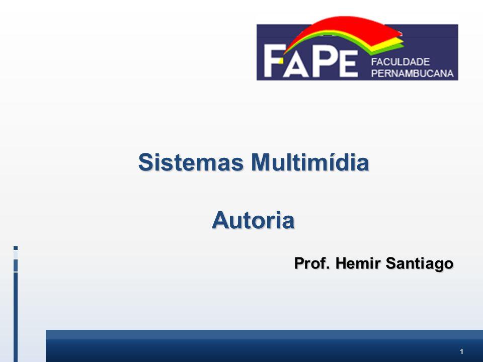 Sistemas Multimídia Autoria
