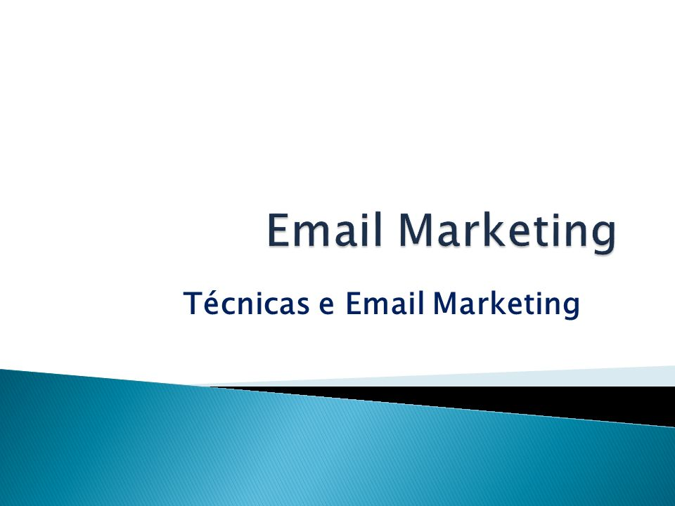 Técnicas e Email Marketing