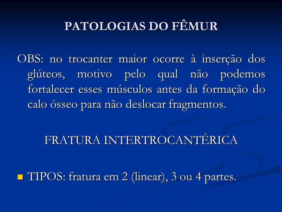 FRATURA INTERTROCANTÉRICA