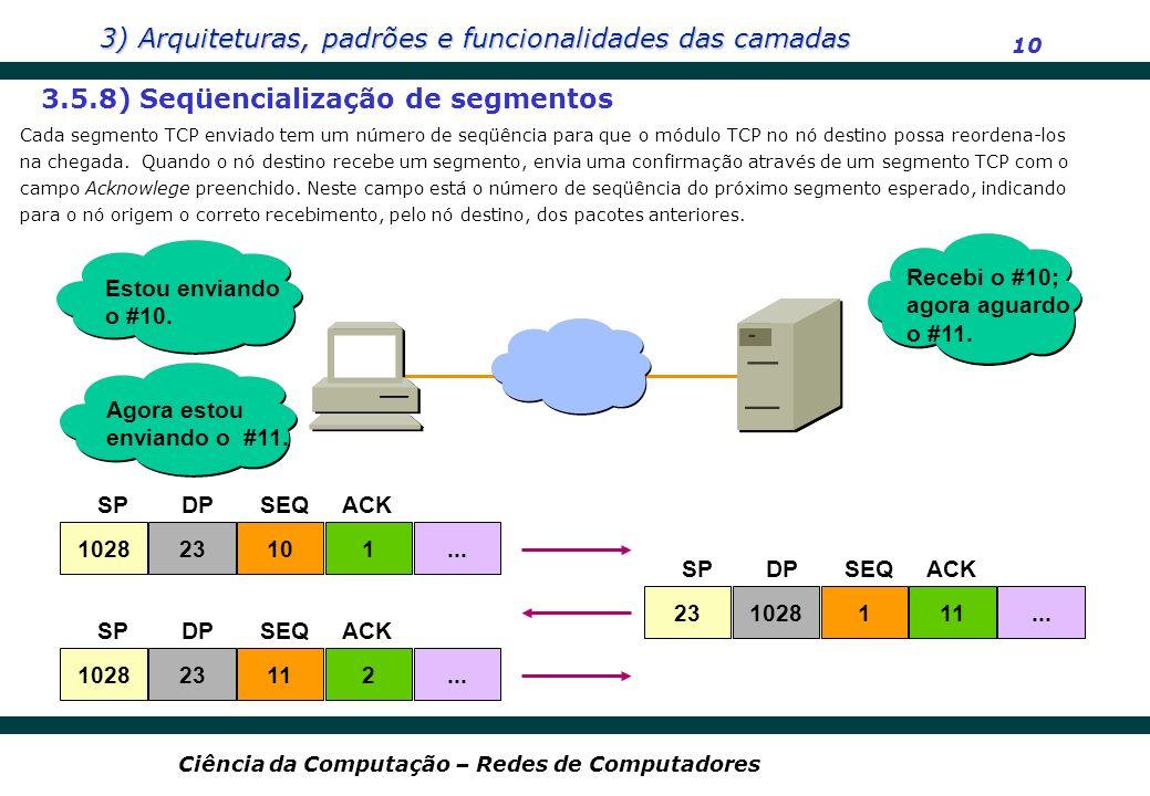 3.5.8) Seqüencialização de segmentos