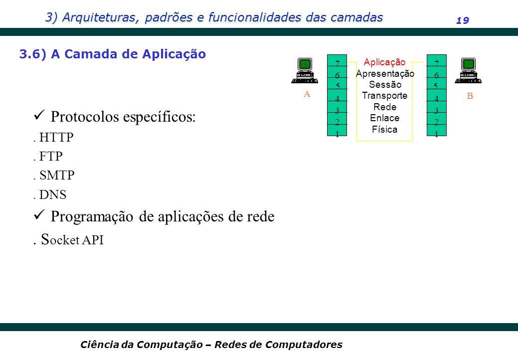Protocolos específicos: