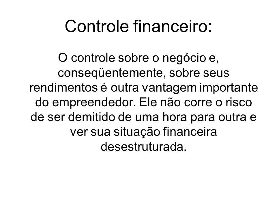 Controle financeiro: