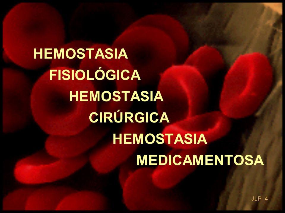 HEMOSTASIA FISIOLÓGICA HEMOSTASIA CIRÚRGICA HEMOSTASIA MEDICAMENTOSA