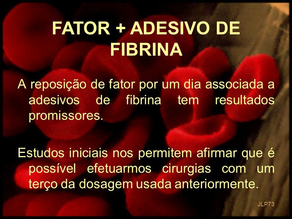 FATOR + ADESIVO DE FIBRINA