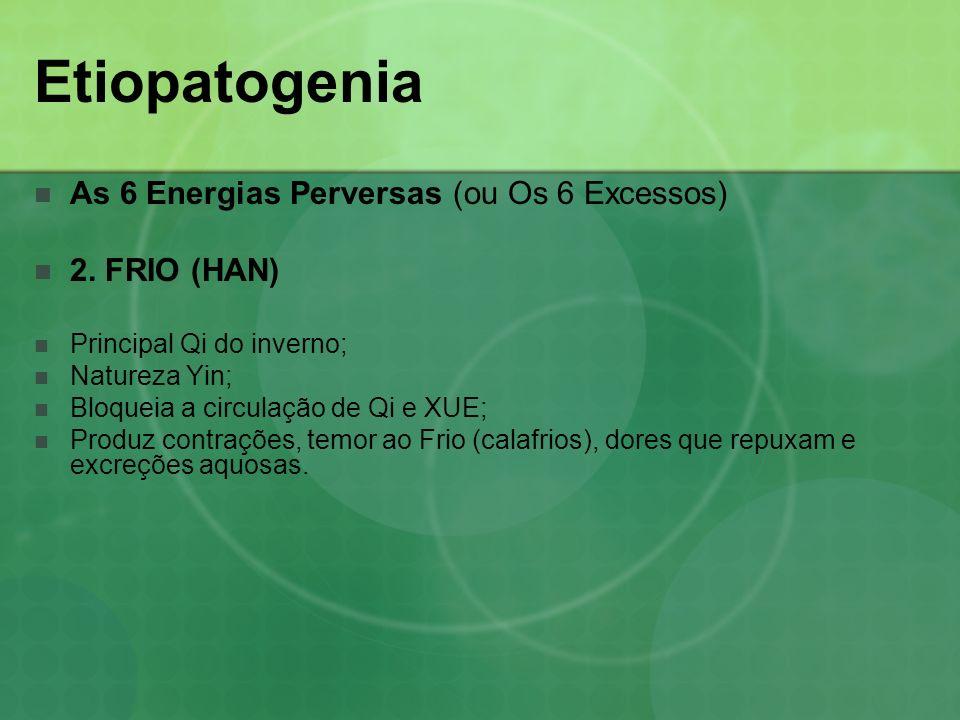 Etiopatogenia As 6 Energias Perversas (ou Os 6 Excessos) 2. FRIO (HAN)