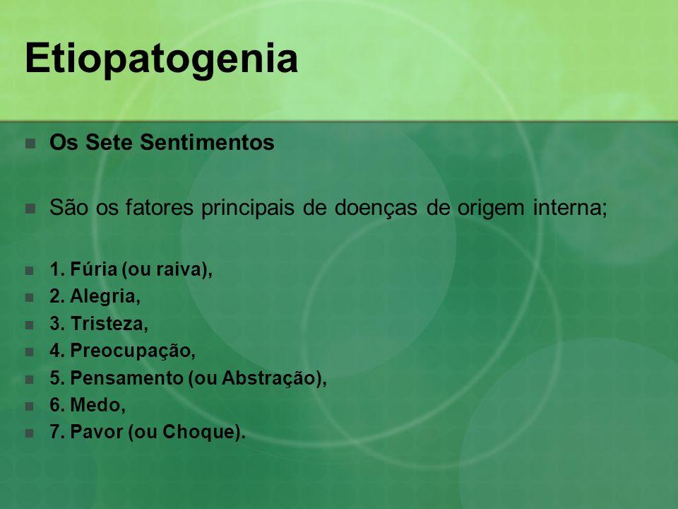 Etiopatogenia Os Sete Sentimentos
