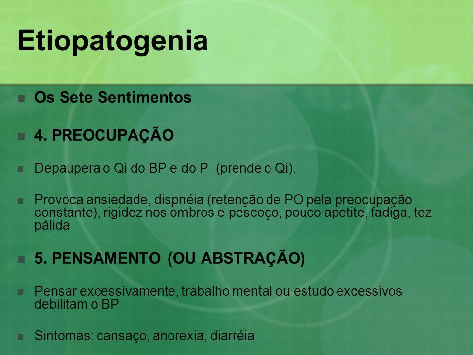 Etiopatogenia Os Sete Sentimentos 4. PREOCUPAÇÃO