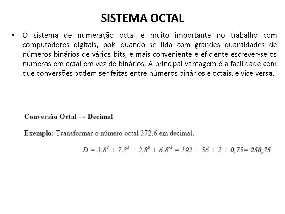 SISTEMA OCTAL