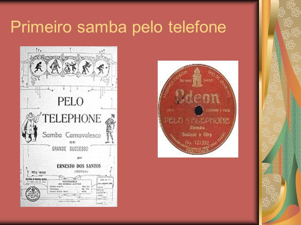 Primeiro samba pelo telefone