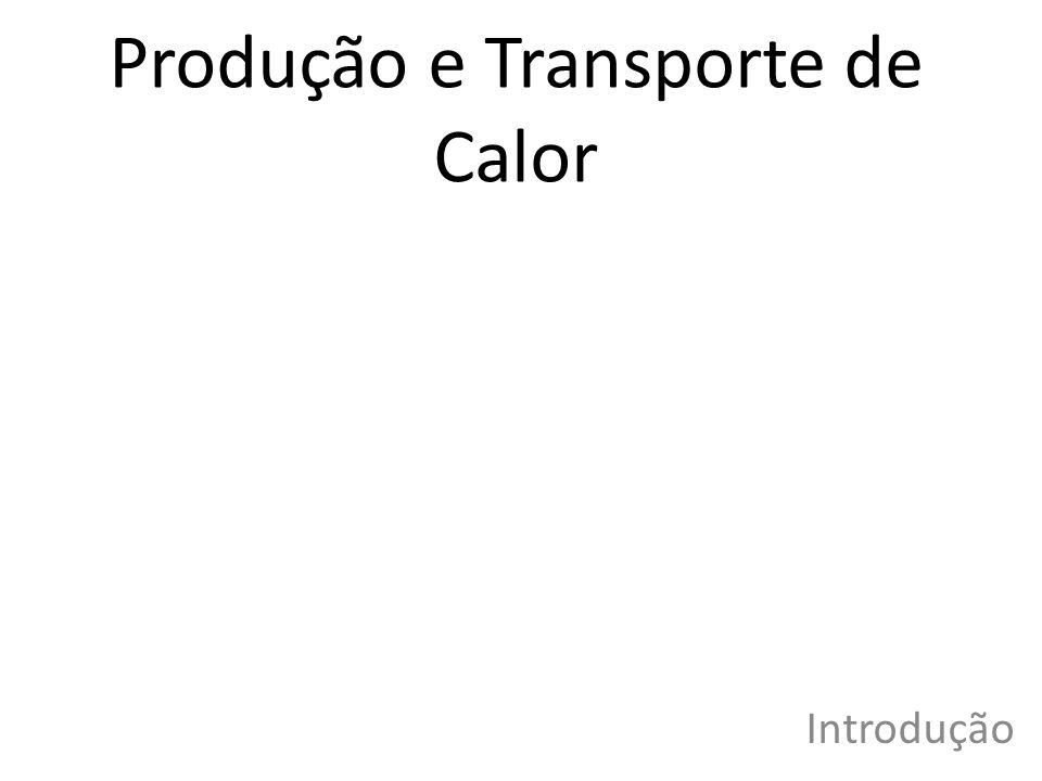 Produção e Transporte de Calor