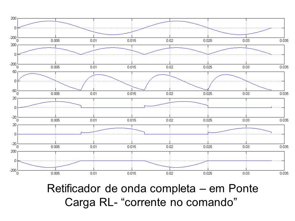 Retificador de onda completa – em Ponte