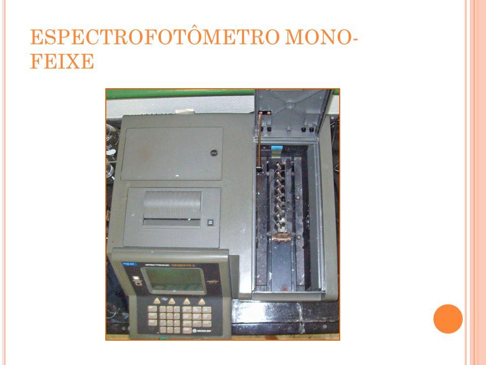 ESPECTROFOTÔMETRO MONO-FEIXE