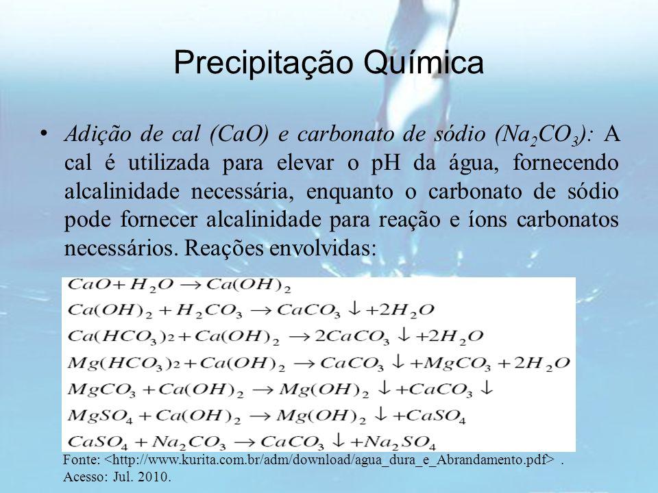 Precipitação Química