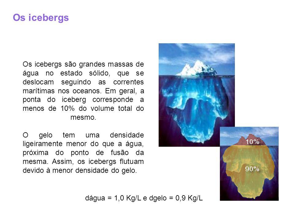 Os icebergs