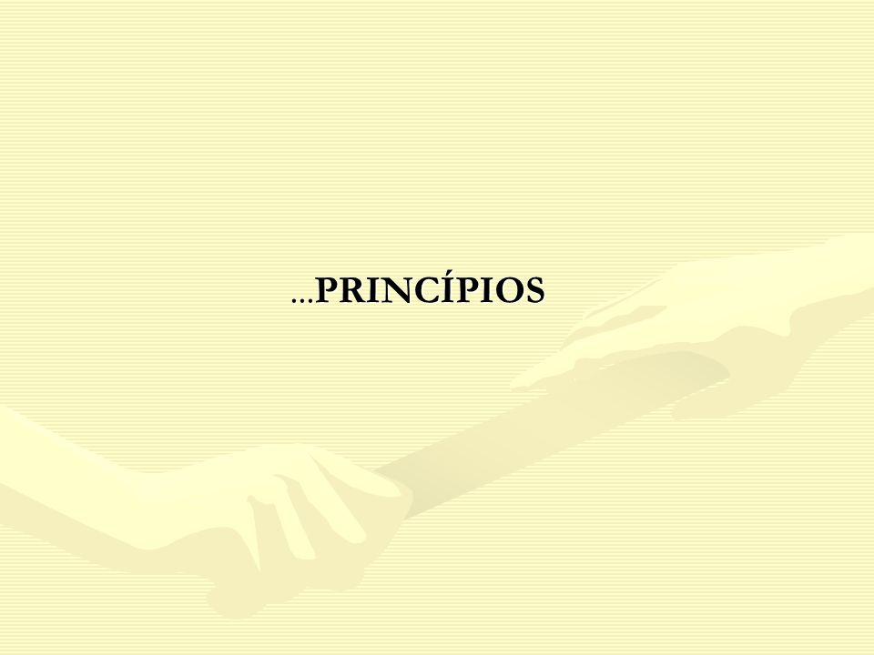 ...PRINCÍPIOS