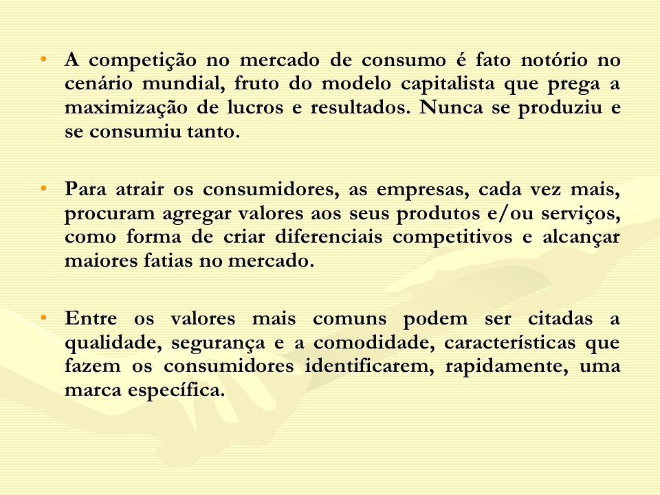 A competição no mercado de consumo é fato notório no cenário mundial, fruto do modelo capitalista que prega a maximização de lucros e resultados. Nunca se produziu e se consumiu tanto.
