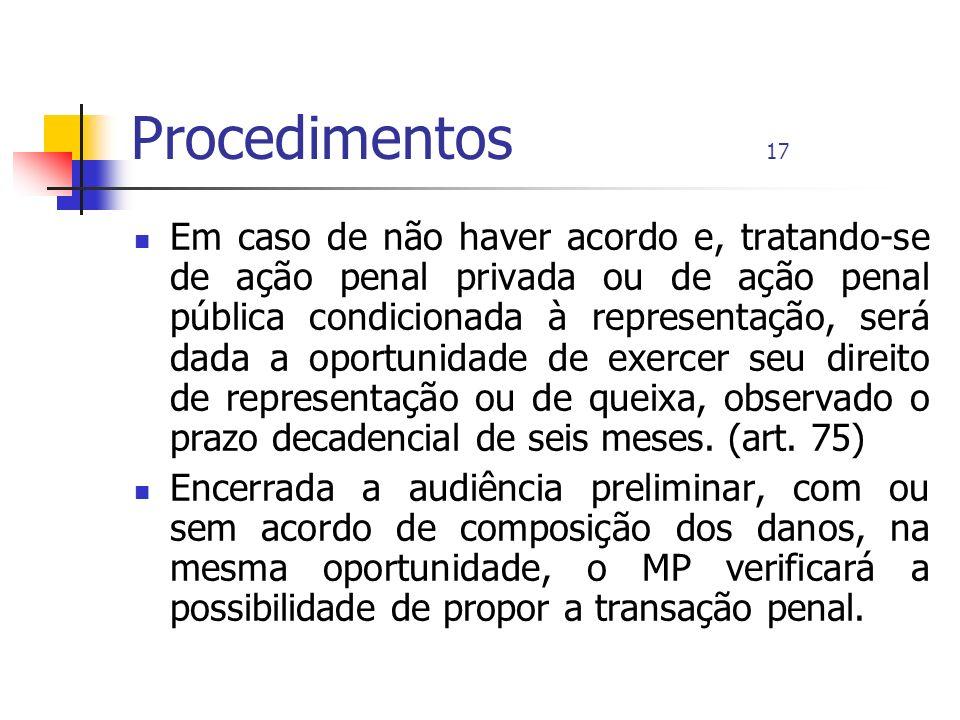 Procedimentos 17