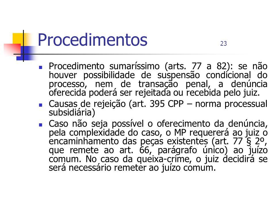 Procedimentos 23
