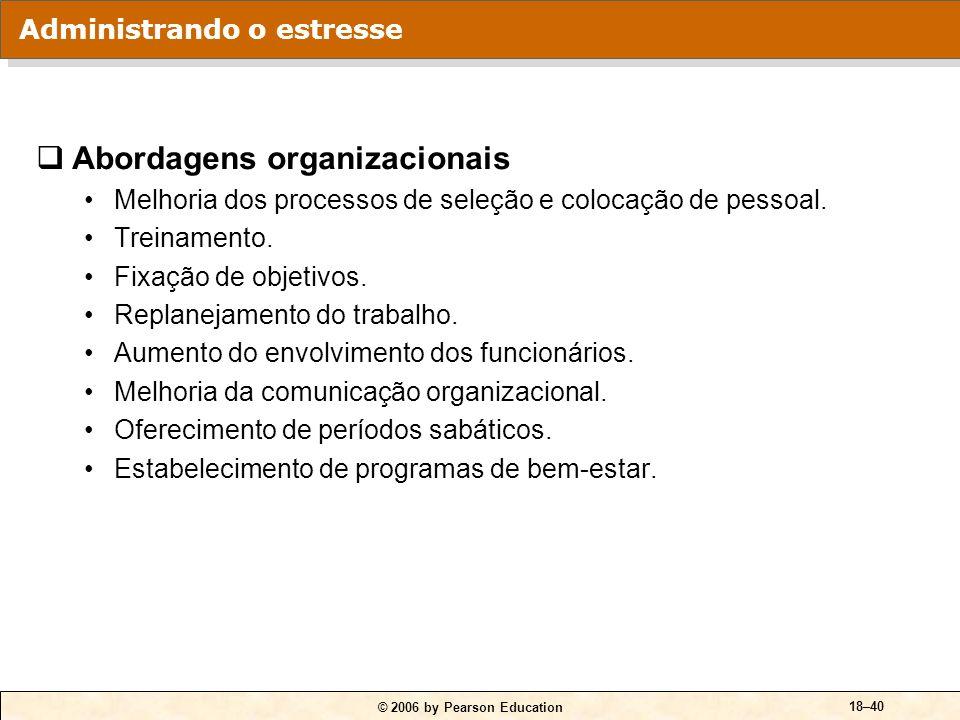 Abordagens organizacionais