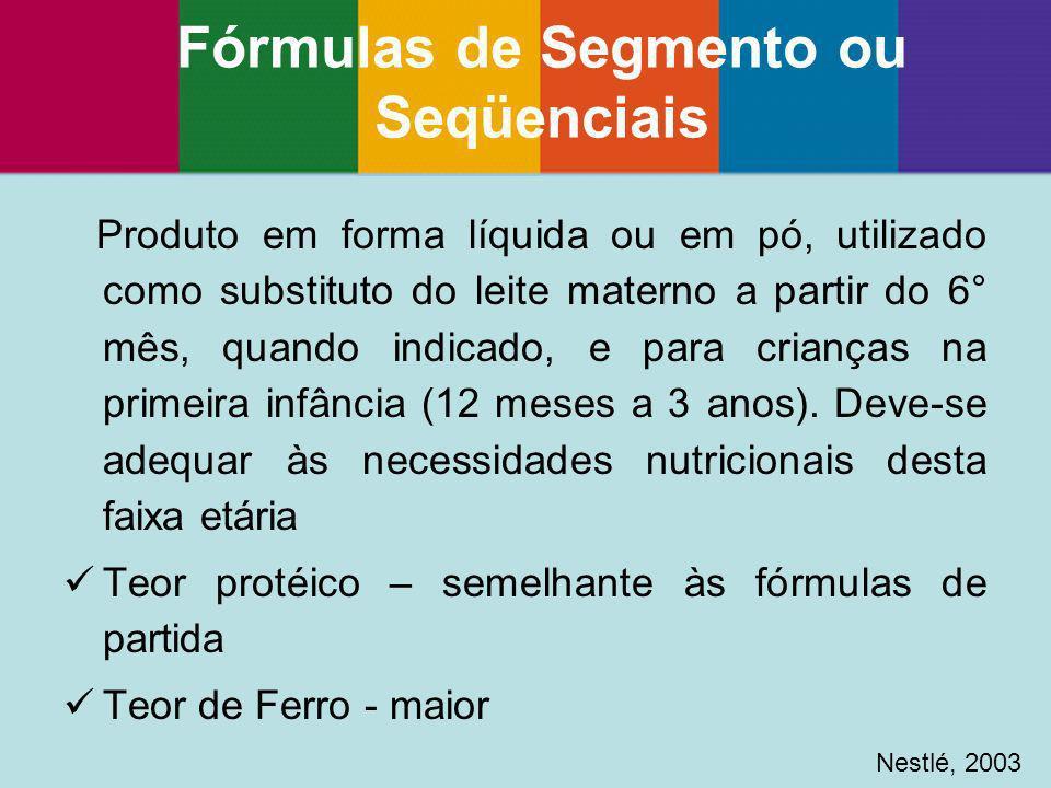 Fórmulas de Segmento ou Seqüenciais