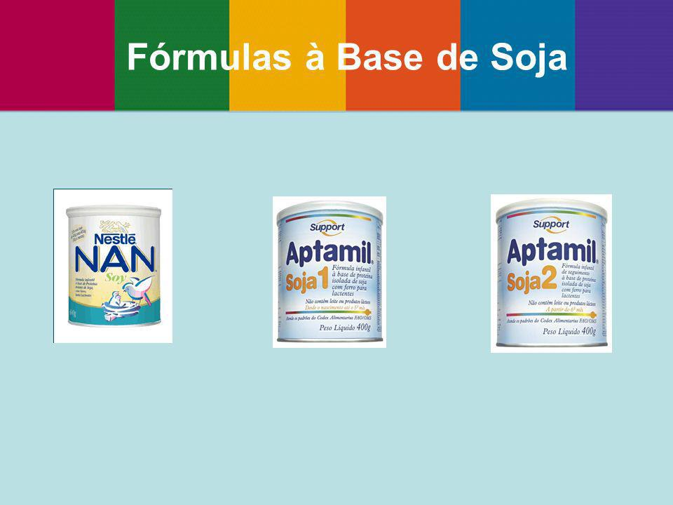 Fórmulas à Base de Soja