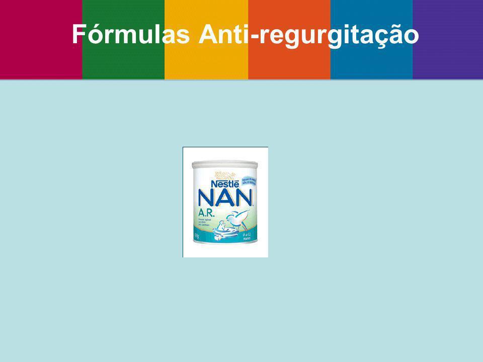 Fórmulas Anti-regurgitação