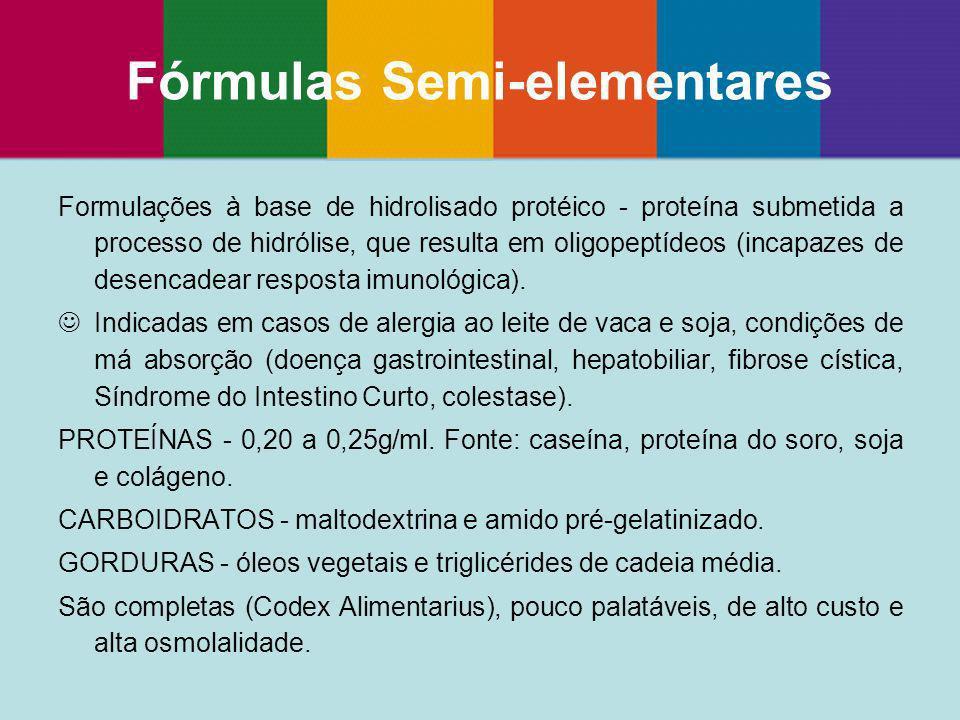 Fórmulas Semi-elementares