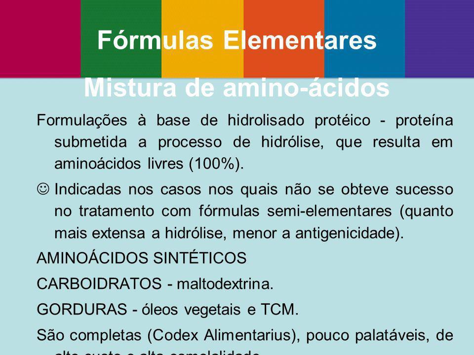 Mistura de amino-ácidos
